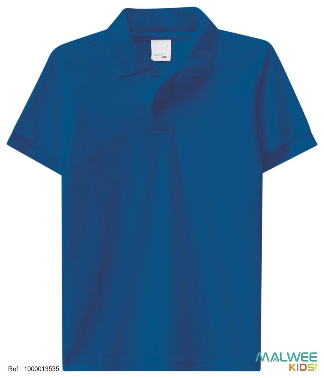 Camisa Polo Malwee - Azul