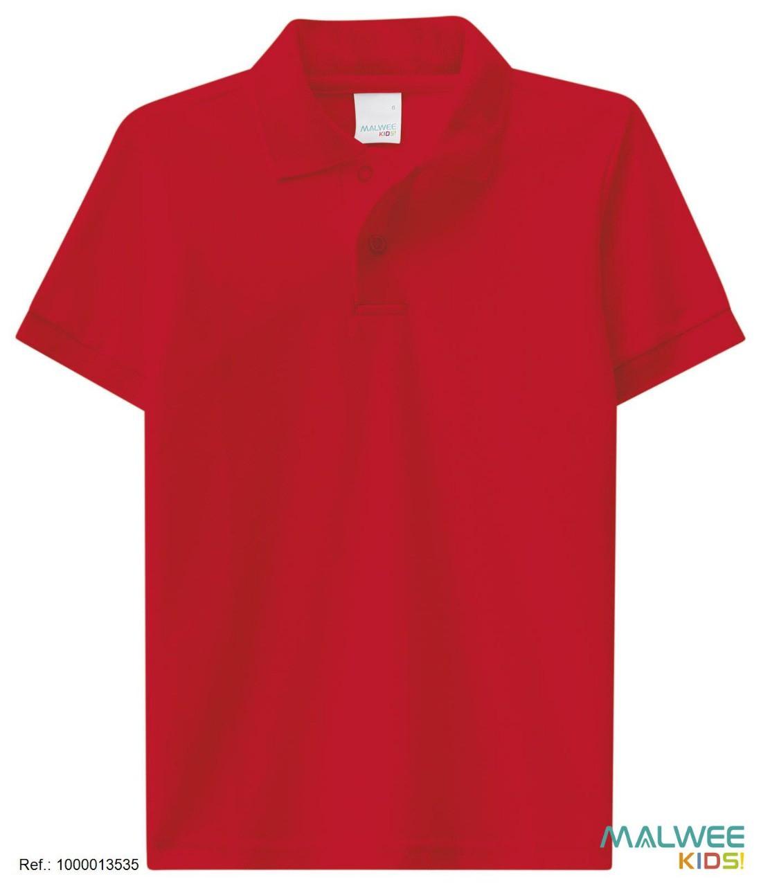 Camisa Polo Malwee - Vermelha