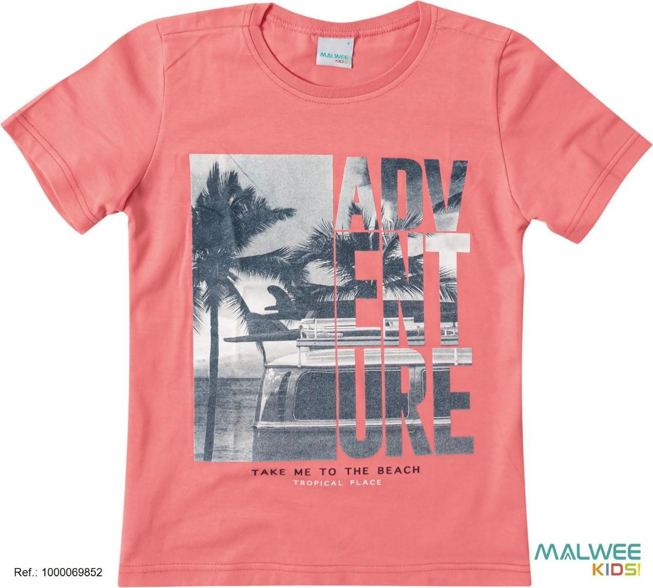 Camiseta Algodão Adventure Malwee