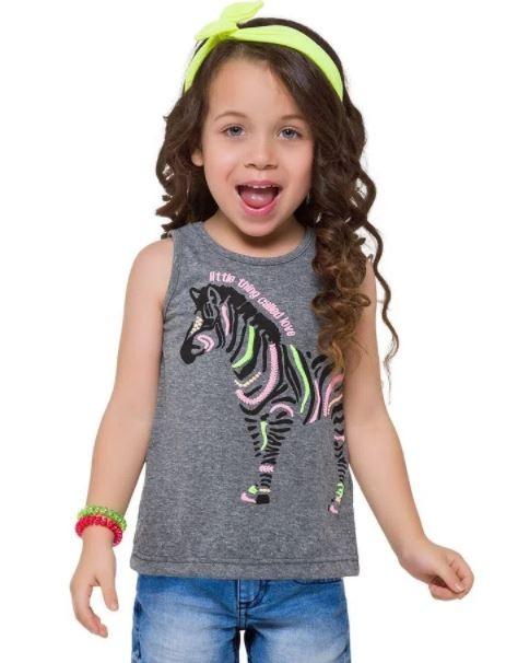 Camiseta Algodão KYLY Zebra