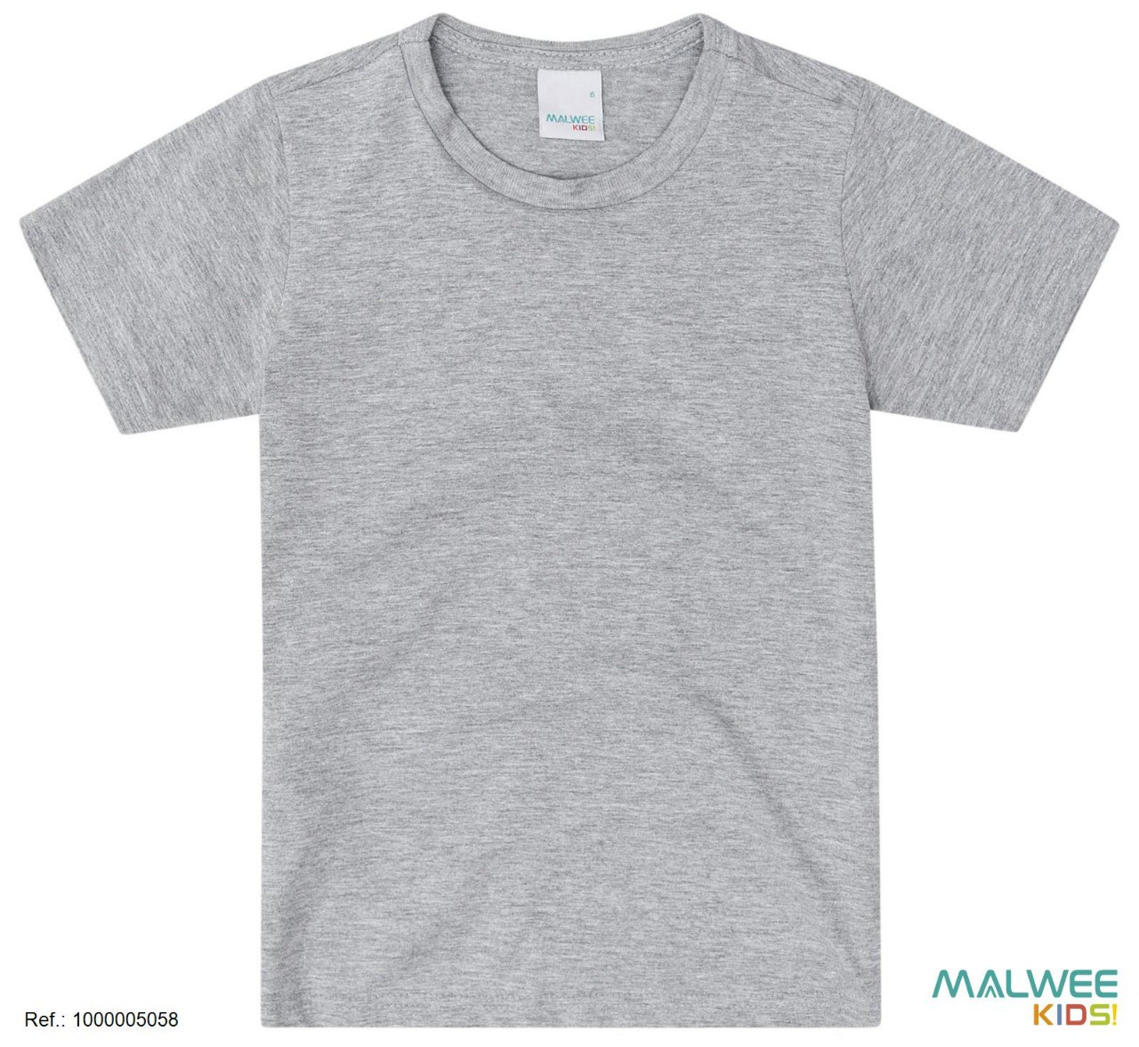 Camiseta Algodão Malwee - Cinza