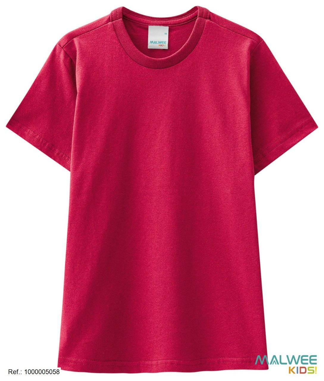 Camiseta Algodão Malwee - Vermelha