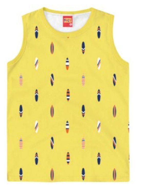 Camiseta Algodão KYLY - Prancha de Surf