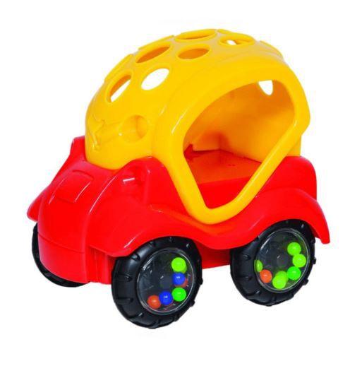 Chocalho Baby Car Buba - Vermelho