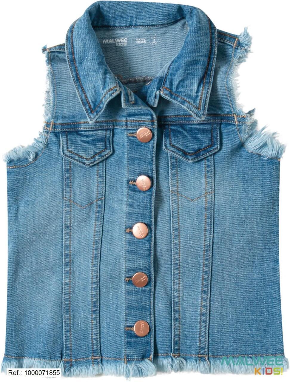 Colete Jeans Malwee