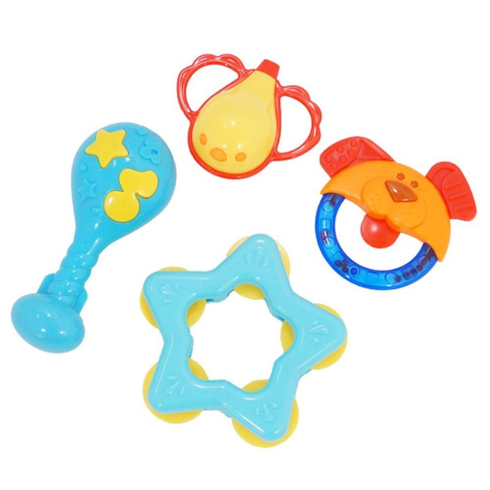 Conjunto de Chocalhos Baby Buba - Meus Amiguinhos