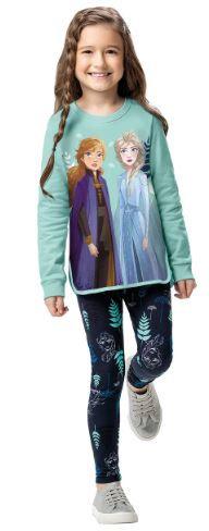 Conjunto Moletom e Legging Disney Frozen II