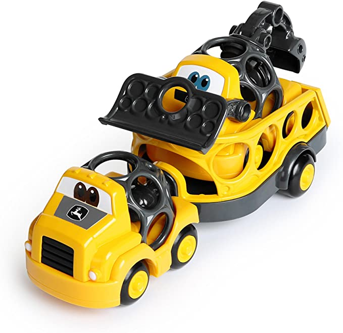 Construction Cruisers Trailer Set Oball Toy