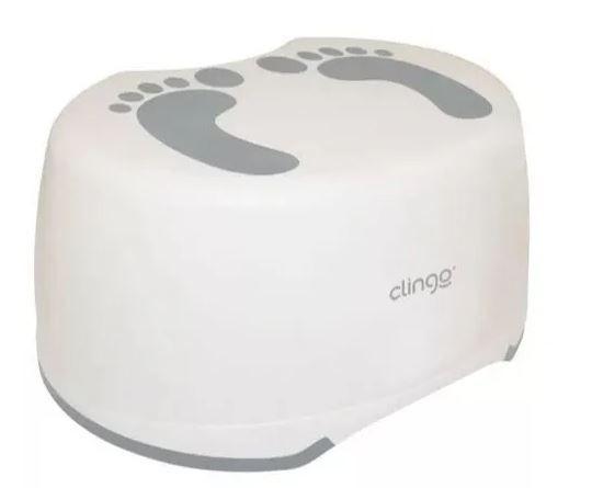 Degrau Infantil Clingo - Cinza