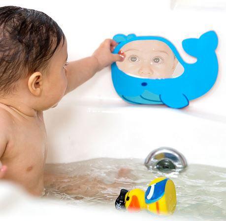 Espelho para Banho Comtac Kids - Baleia