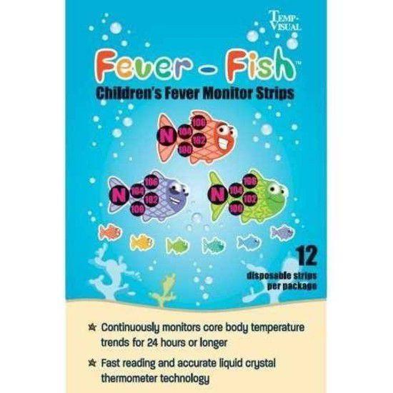 Fever Fish - Adesivo para febre