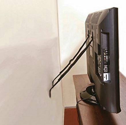 Fita de Segurança para TVs Comtac Kids - Com 2 unidades