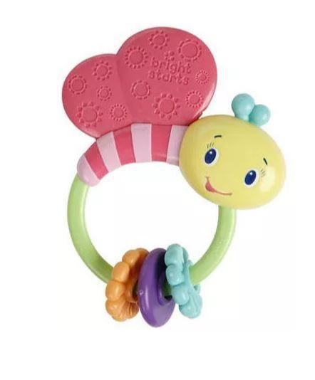 Fly By Butterfly Rattle Bright Starts
