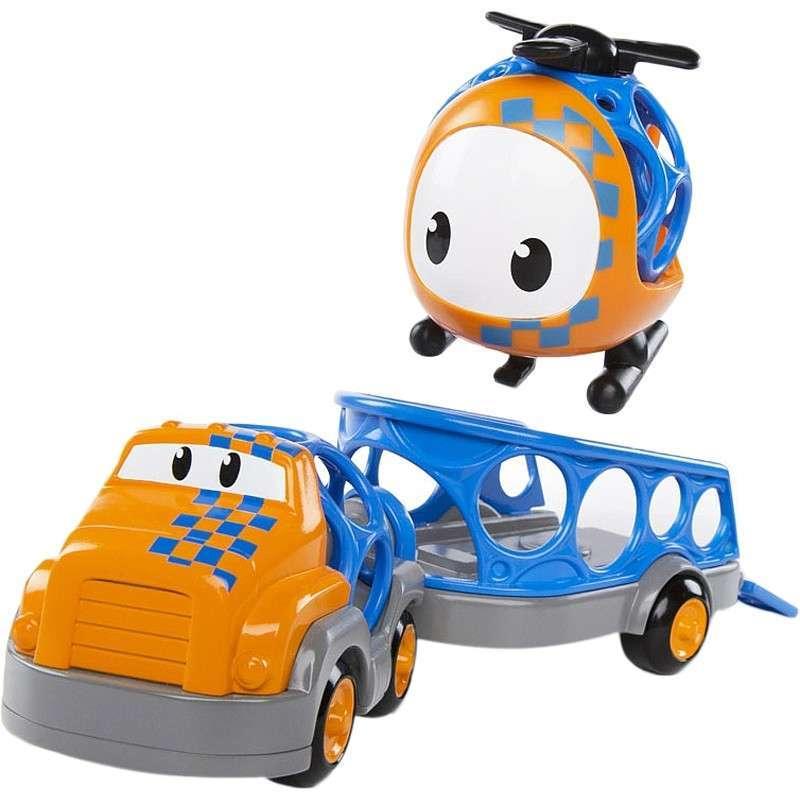 Go Grippers Truck e Trailer Set Oball Toys