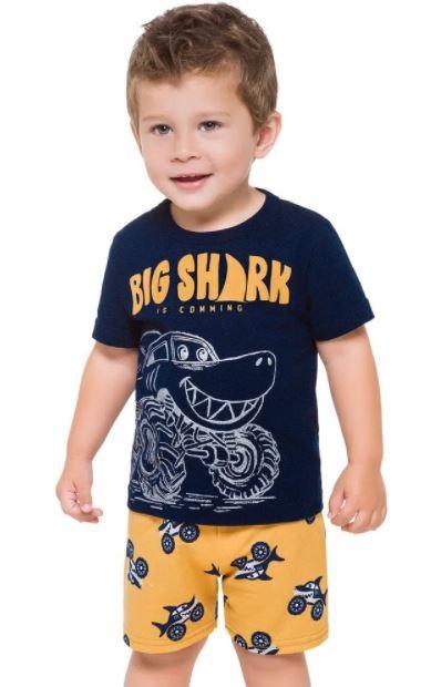Kit 2 peças Big Shark KYLY