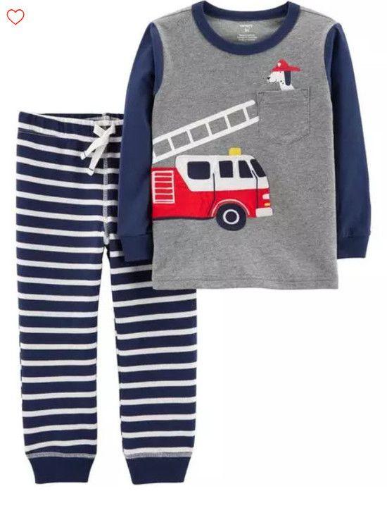 Pijama Carter's Bombeiro