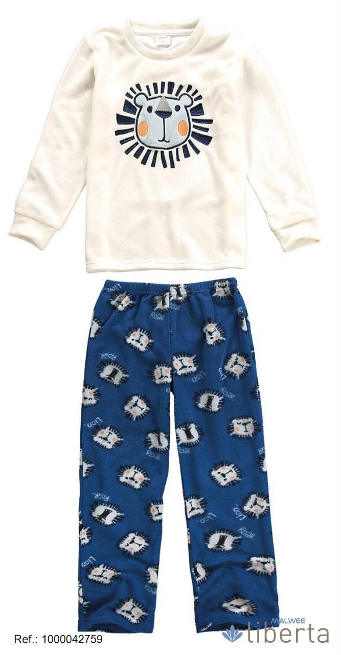 Pijama Fleece Leão Malwee Liberta