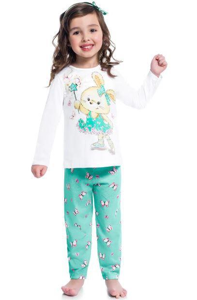 Pijama KYLY Algodão Coelhinha