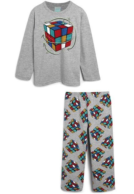 Pijama KYLY Algodão Cubo Mágico