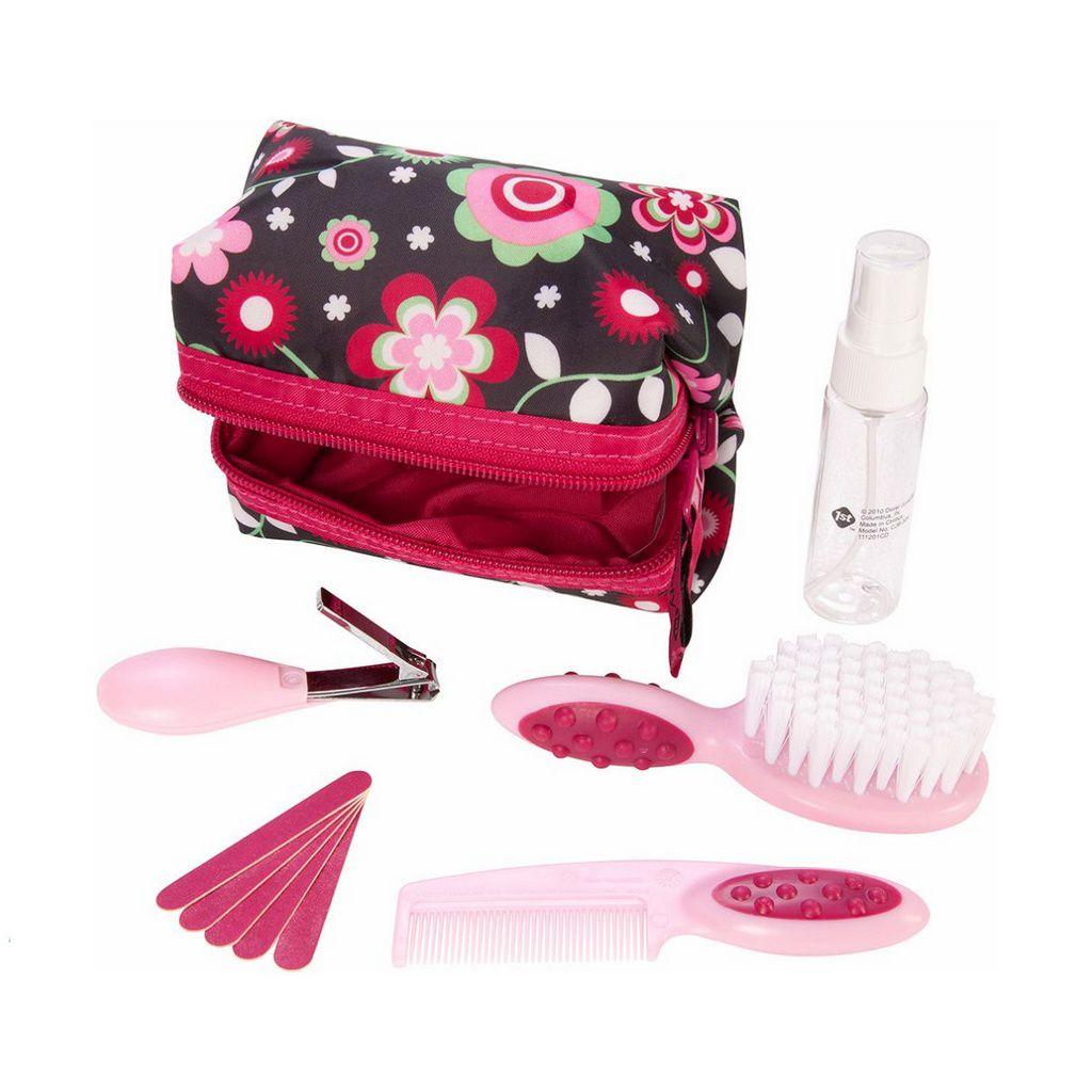 Kit Higiene e Beleza 10 peças Safety 1st - Rosa