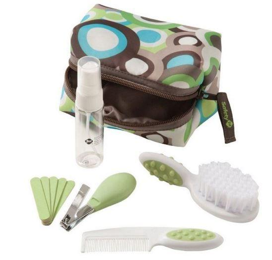 Kit Higiene e Beleza 10 peças Safety 1st - Verde