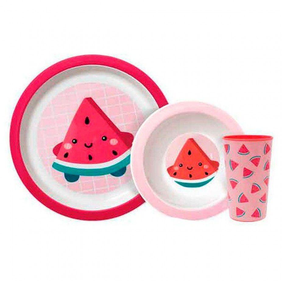 Kit Refeição Frutti Buba - Melancia