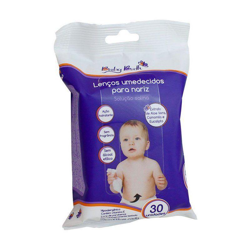 Lenços Umedecidos para Nariz Baby Bath