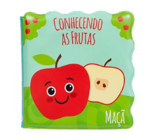 Livrinho de banho Conhecendo as frutas - Buba