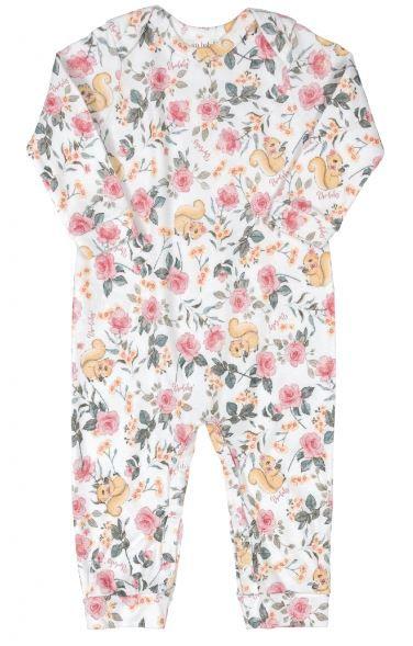 Macacão Algodão Up Baby Flores