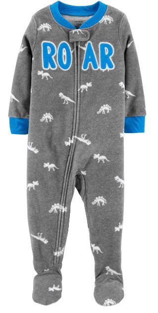 Macacão Carter's Fleece Dinossauro