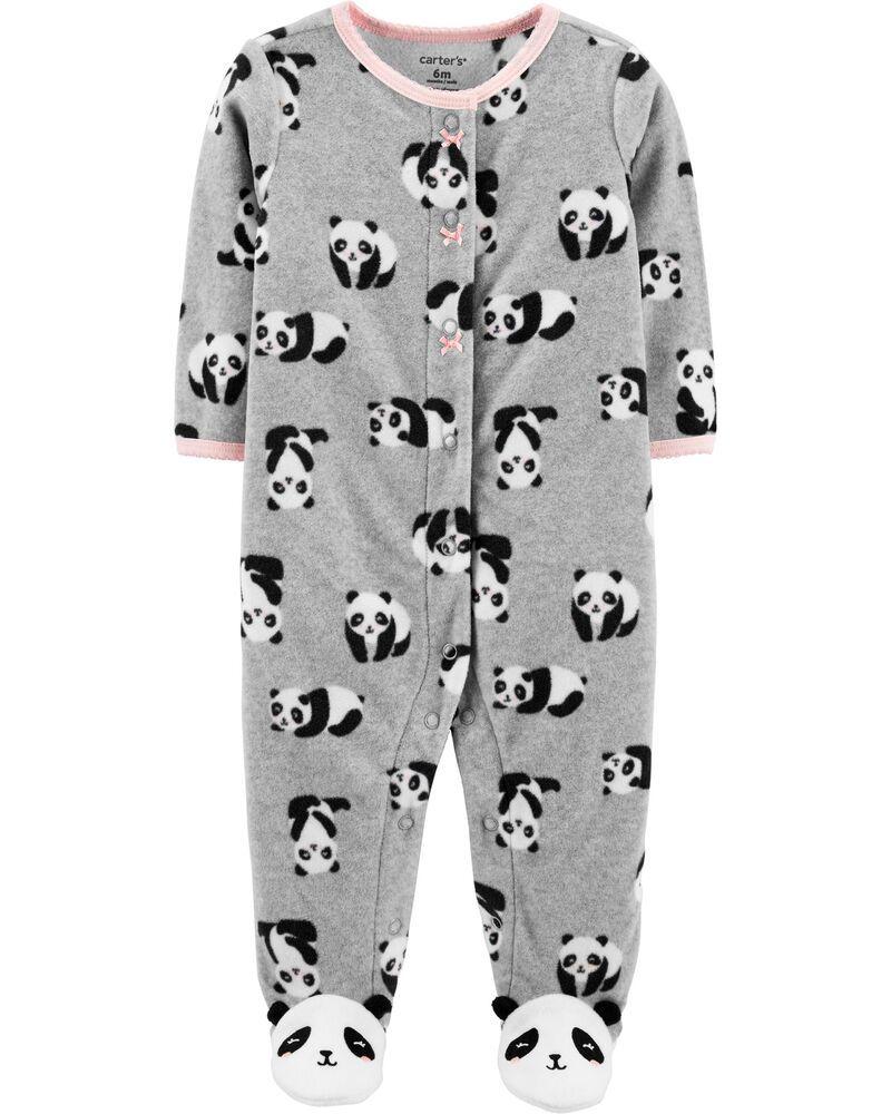Macacão Carter's Fleece Panda