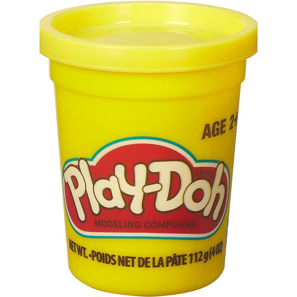 Massinha de Modelar Play-Doh Pote individual 112g (pote grande) - Amarela