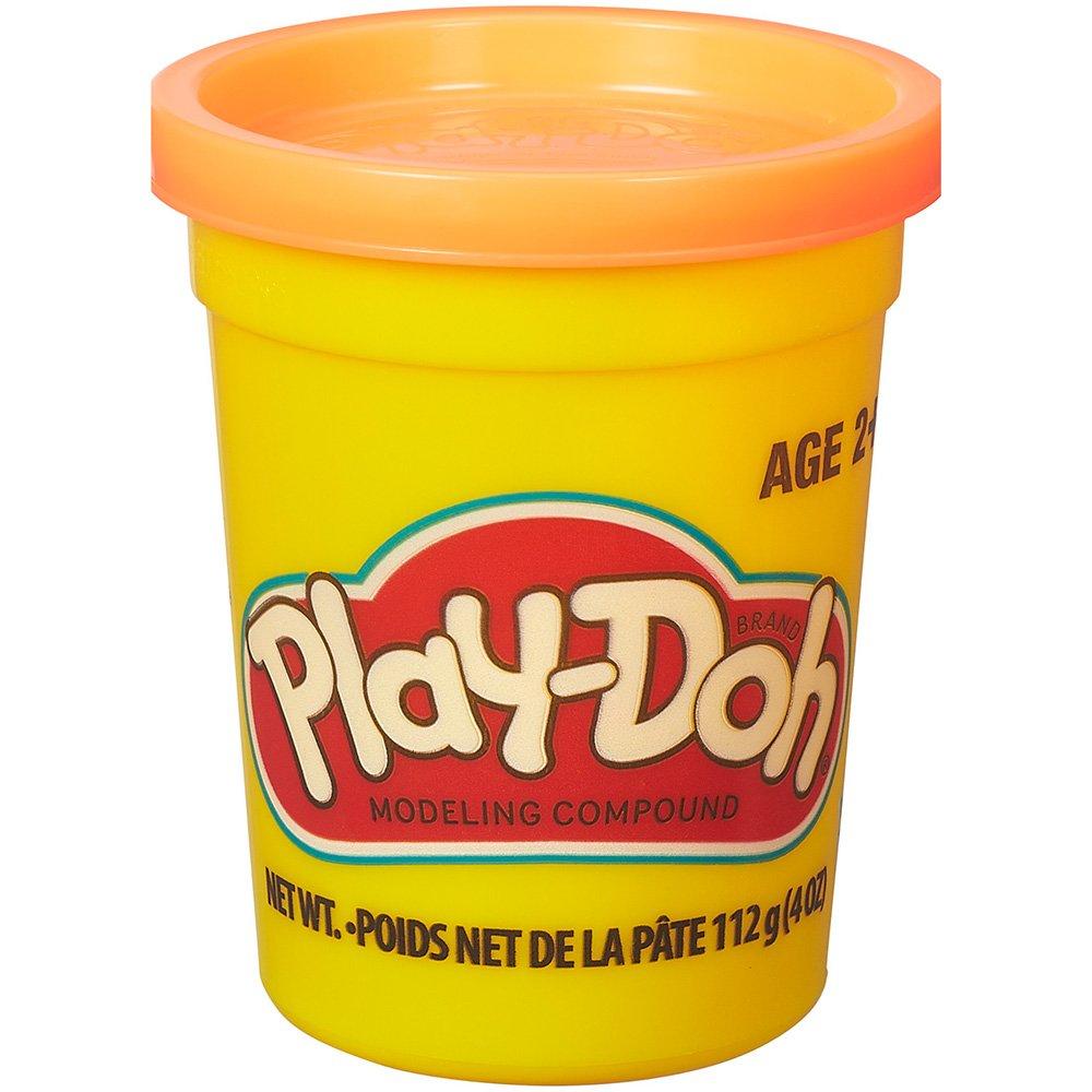 Massinha de Modelar Play-Doh Pote individual 112g (pote grande) - Laranja
