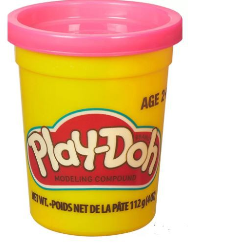 Massinha de Modelar Play-Doh Pote individual 112g (pote grande) - Rosa