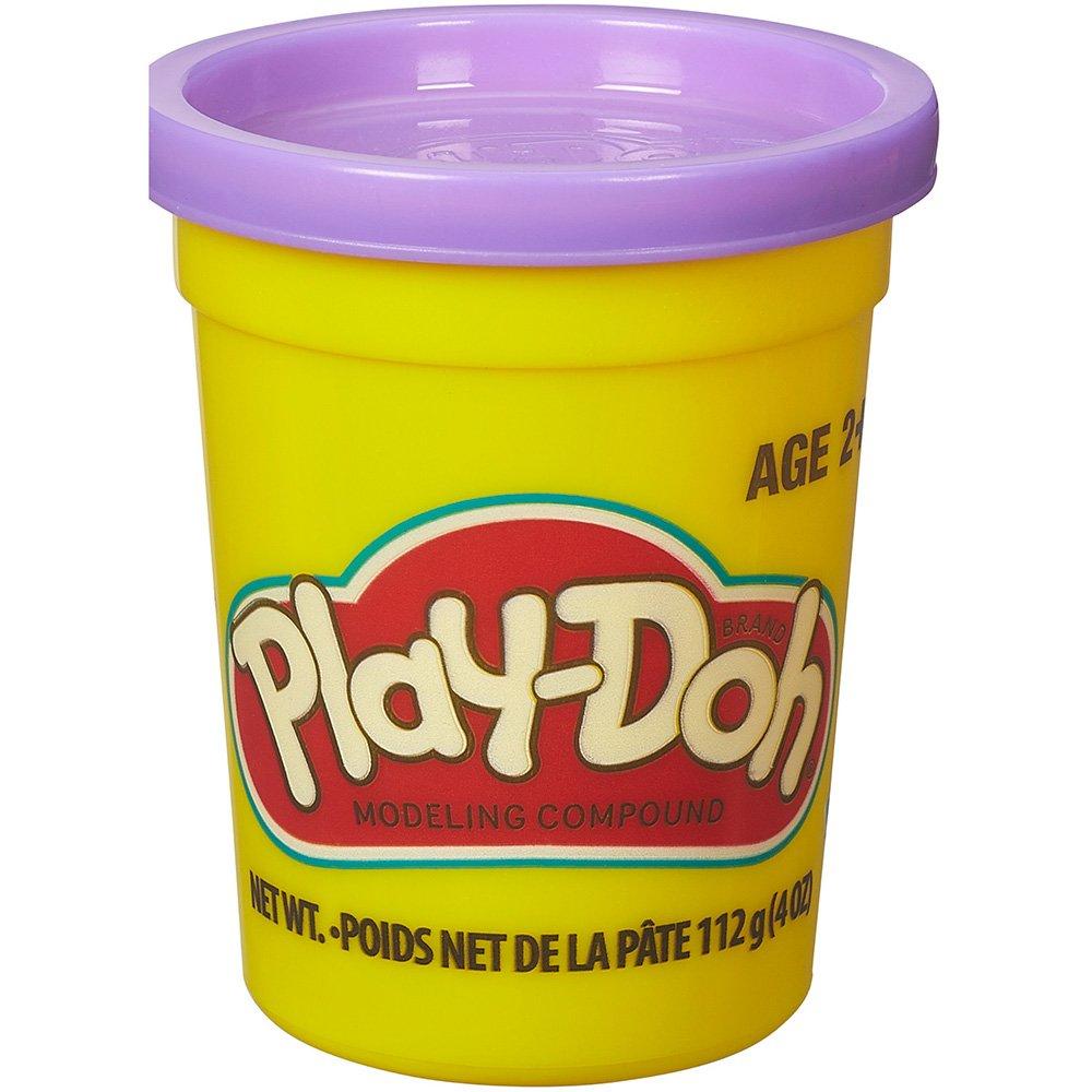 Massinha de Modelar Play-Doh Pote individual 112g (pote grande) - Roxo