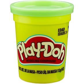 Massinha de Modelar Play-Doh Pote individual 112g (pote grande) - Verde Claro Neon