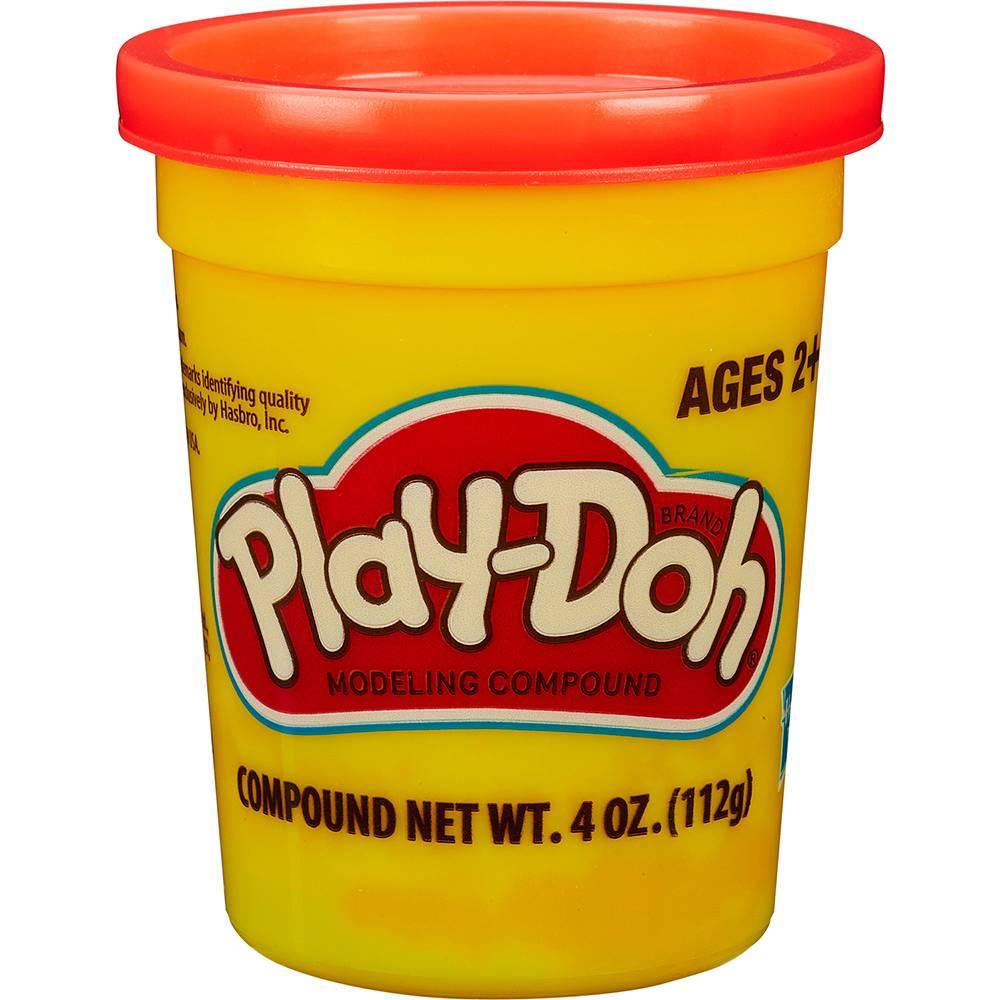 Massinha de Modelar Play-Doh Pote individual 112g (pote grande) - Vermelho