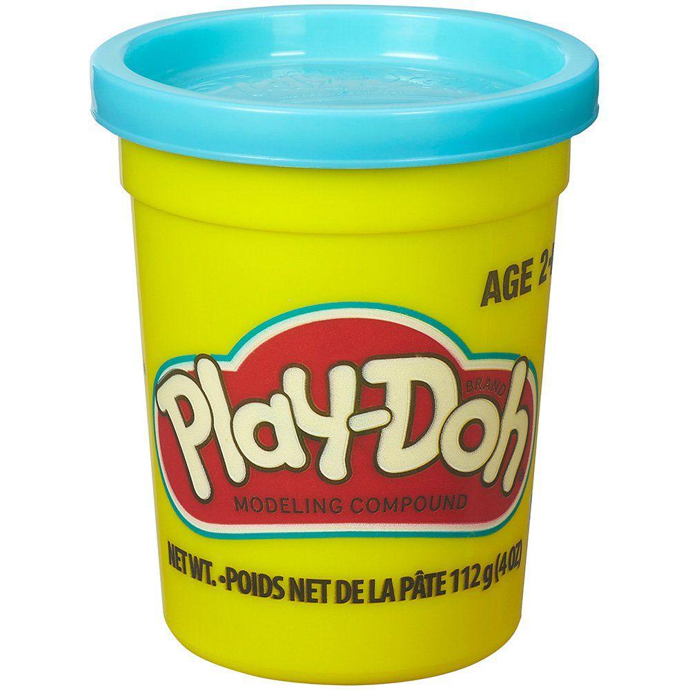 Massinha de Modelar Play-Doh Pote individual 112g (pote grande) - Azul