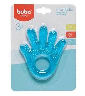 Mordedor de água mãozinha Buba - Azul