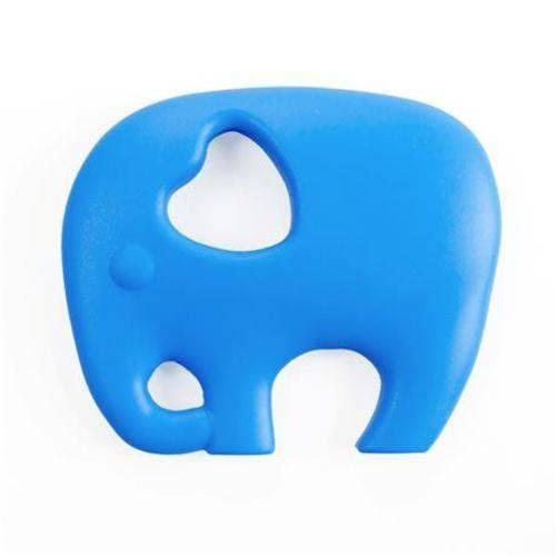 Mordedor de silicone Buba Elefantinho - Azul