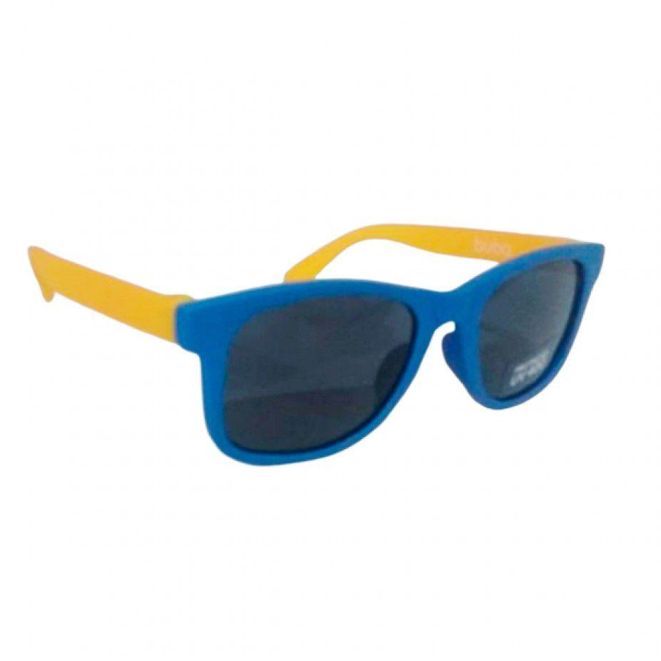 Óculos de Sol Buba - 0 - 36 meses - Azul com Amarelo