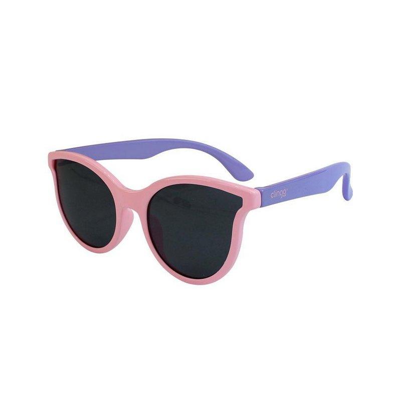 Óculos Escuros Clingo - 36m+ - Rosa e Lilás