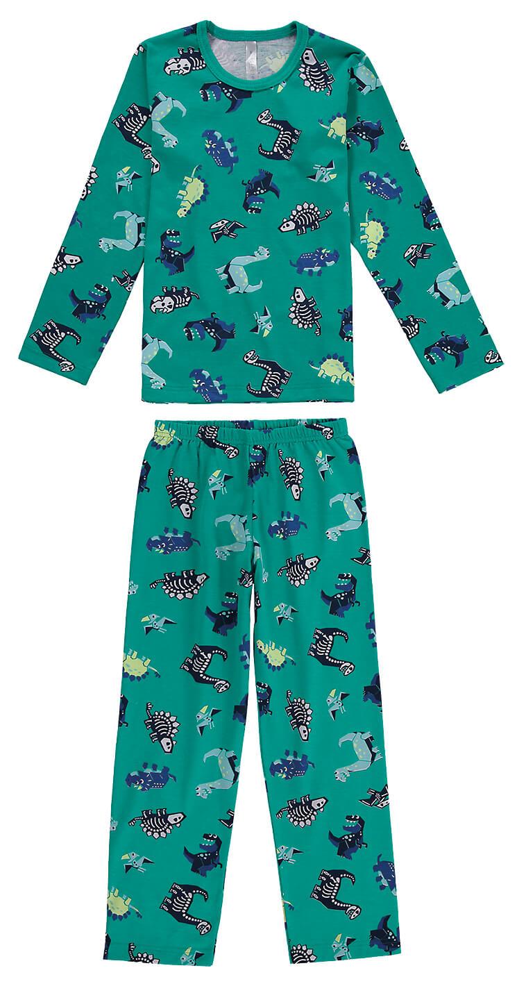 Pijama Algodão Dinossauros Malwee Liberta
