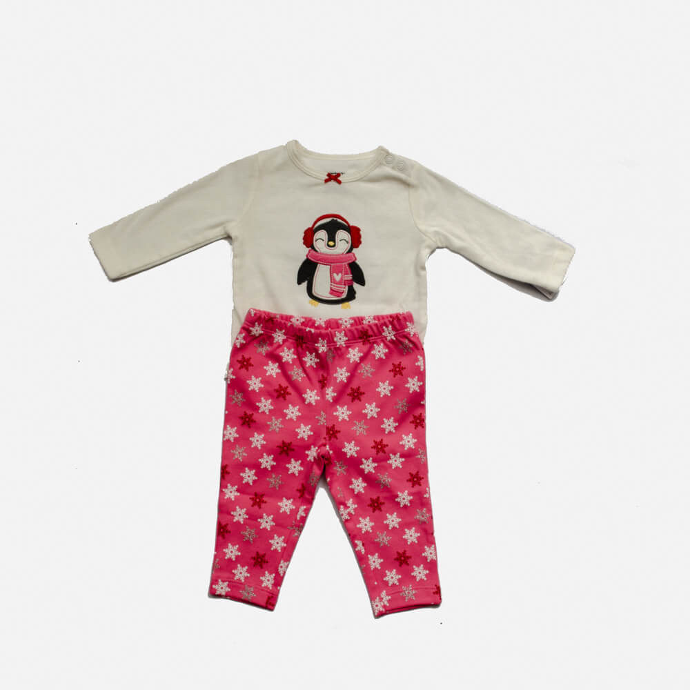 Pijama Carter's Algodão Pinguim