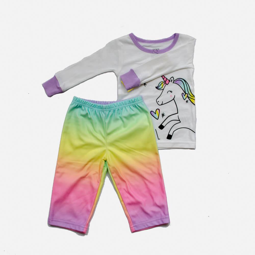 Pijama Fleece e Algodão Unicórnio Carter's