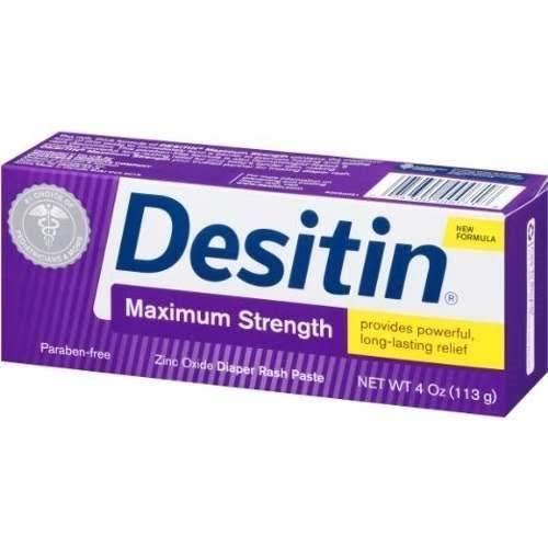 Pomada Desitin - Bisnaga 113gr- Força Máxima (Tratamento)