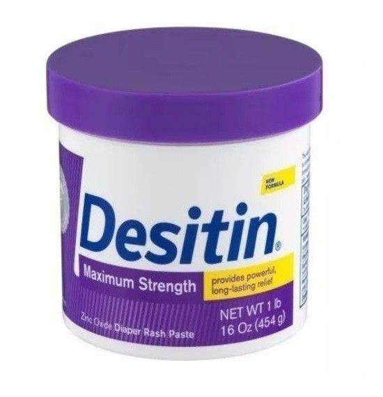 Pomada Desitin - Pote 454g - Força Máxima (Tratamento)