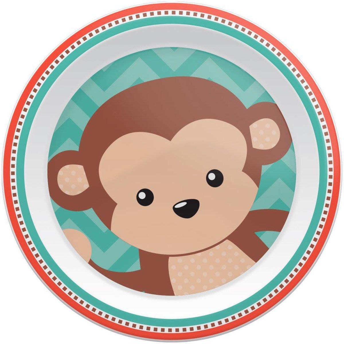 Pratinho Animal Fun Buba - Macaco