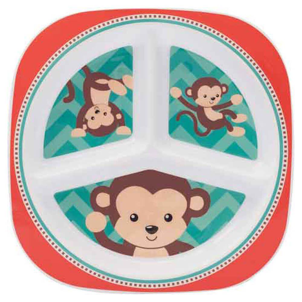 Prato com divisórias Buba - Macaco