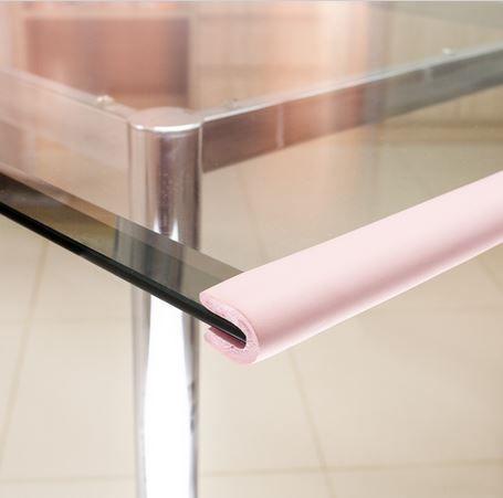 Protetor para borda de vidro formato U Comtac Kids - Rosa